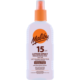 Malibu - Aurinkovoide Spray (SPF15) -100ml