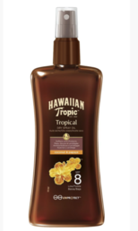Hawaiian Tropic - Protective Dry Spray Oil (SPF8) - 200ml