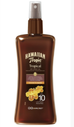 Hawaiian Tropic - Protective Dry Spray Oil (SPF10) - 200ml